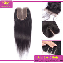 Wholesale factory price middle/free/three part virgin lace closure peruvian lace closure straight