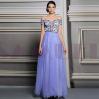 HL31200 expensive beautiful evening dress 2015 with sleeves