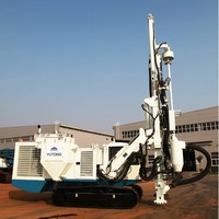 120mm drilling Tracked Down-hole Drilling Rig