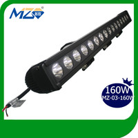 160W Outdoor Cree LED Driving Light Bar Off Road Truck Boat Bus Emergency SUV ATV LED Focus Spot Light