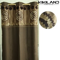 2015 factory direct wholesale curtain luxury hand embroidery window curtain