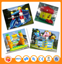 Hot promotion amusement games inflatable castle for birthday party