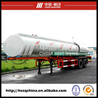 China Carbon Steel (Rear Two FUWA Axles) Fuel Tank Semi Trailer