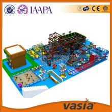 Dreamland fantasic kids indoor playground adventure park with rope course development