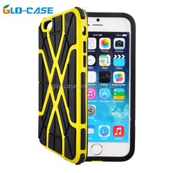 2015 mixed plastic back skin cover case for iPhone6