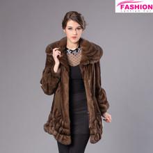 2015 new fashion style mink fur clothes / Good quality Low Price Imput min fur