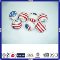 synthetic leather 108 stitch hot sale baseball ball from china