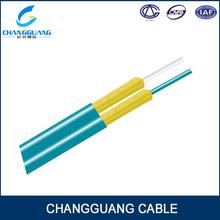 Hot global excellent tensible GJFJ8V LSZH communication Double core fiber optic cable