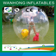 Pretty girl dancing ball, inflatable water walking ball,inflatable ball
