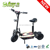 2015 easy-go 2000w 60v rechargeable electric scooter for adults with front/rear lights pass CE certificate