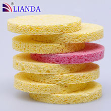 Hot Sale Cellulose Sponge Removes the smudged dirt with just water alone sponge cloth, pop up sponges, Wet cellulose sponge