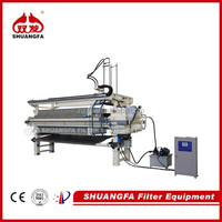 program-controled plate and frame filter press/calcium carbonate filter