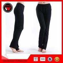 Custom nylon spandex kids yoga pants supplies