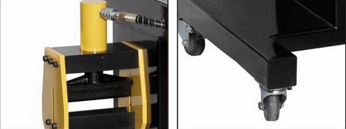 Hl-150h 200 H гидравлический медная шина резки пробивая гибочный станок