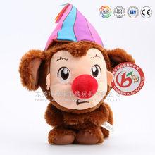 ICTI Audited Factory High Quality Custom Promotion plush soft toy monkey