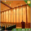 Office room division wooden soundproof movable silding folding partition