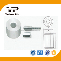 cable fitting high quality aluminium stop buttons aluminium ferrules