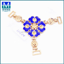MZT071 New design metal decoration ladies jewelry flower accessories for women shoes