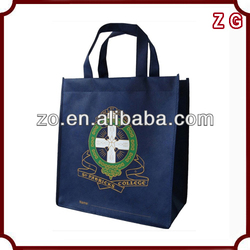 wholesale silk screen Eco big non woven shopping bags