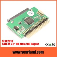 Factory direct sata hdd to 44 pin ide adapter