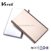 High conversion rate small size 10000mah universal power banks
