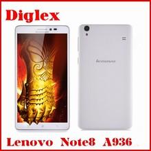 "Original lenovo A936 Note8 FDD-LTE 6.0"" 1280x720 HD Screen MTK6752 Octa Core 1GB RAM 8GB ROM 5.0MP+13.0MP Android 4.4.4 Phone"