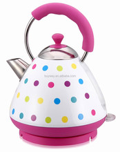 Capacity 1.7L cordless electric modern kettle