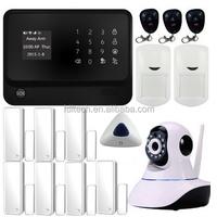Smart best gsm home alarm system, Alarm Home Security System, MMS GSM 3G Wireless Home Security Alarm