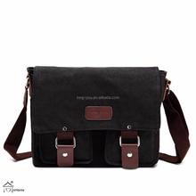 Men's Shoulder Bag Canvas Retro Messenger bags for Leisure Travel Cotton Tote Bag