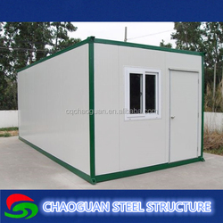 cheap prefab shipping container house/cabin