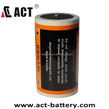 Lithium 3.6V battery ER34615M 3.6V D size battery 14.5Ah lithium cells