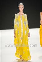 saudi abayas 2014 DUBAI VERY FANCY KAFTANS abaya jalabiya Ladies Maxi Dress Wedding gown K1905