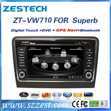 Car dvd headunit for Skoda Superb 2009-2012 car multimedia system with car Radio/SWC/OPS/IPAS/RDS/Visual-10discs/A10 chip