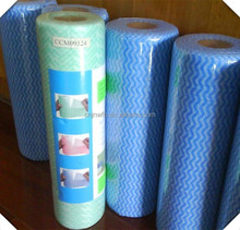 viscose/polyster spunlace nonwoven cleaning cloth