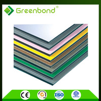 Greenbond aluminum composite polypropylene honeycomb panel