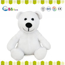 ICS carrefour factory plush and stuffed lovely animal light up teddy bear plush toy dolls
