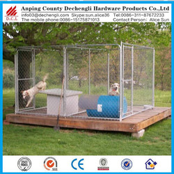 Heavy duty large dog kennel