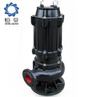 ZJQ type dredger ash slurry high flow submersible pump