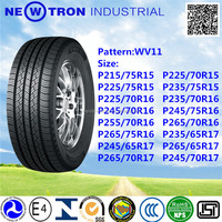 15inch PCR Passenger Radial Car Tire with DOT P225/70R15