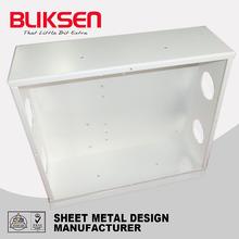 Custom extruded aluminum electronic enclosure box