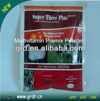 Nutritional medicine Super Three Plus Multivitamin for Pig and Cattle weight gain