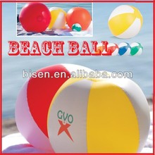 Hot 2014 6P Free PVC Beach Ball 6 Panel