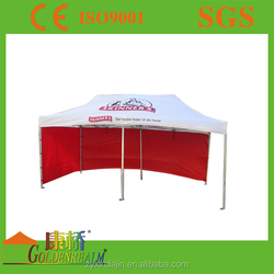 Colorfast printing 3m*3m outdoor commercial tent aluminum frame gazebo