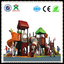The newest design natural playground wholesale / cheap playground games for kids (QX-11002B)