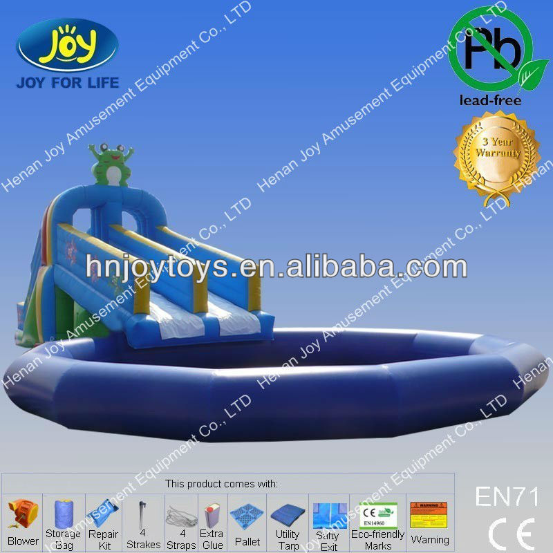 Good quality commercial used swimming pool water slide for - Commercial swimming pool water slides ...