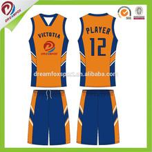 La mejor calidad respirable personalizada barato reversible uniformes de baloncesto, equipo de baloncesto uniforme