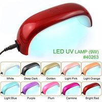 40263h,Fast dry 30s' uv led nail lamp 9w