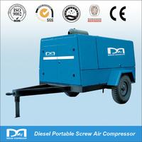 Diesel Engine Driven Mobile Compressor for Jack Hammer