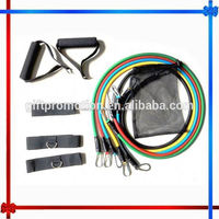 different types of resistance bands , gym exercise set ,H0T082