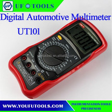 100% Brand New Uni-Trend UT101 Digital Automotive Multimeter For Auto Testing with Dwell and Tach